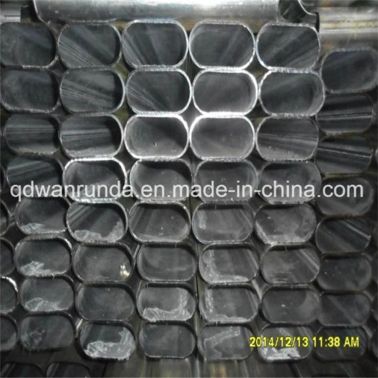 Oval Shape Galvanized Steel Pipe with Nice Surface