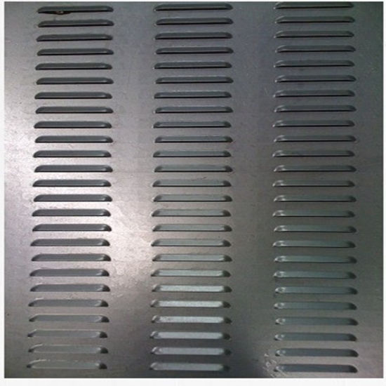 Perforated Plate/Punched-Plate Made by CNC Punching Machine