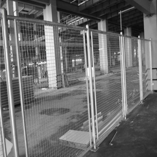 Galvanized Steel Barrier Made by Wire Mesh