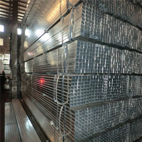 (40X40mm) Square Pre Galvanized Steel Tube (use for shell frame)