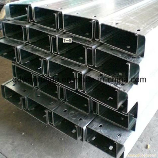 HDG C Steel Channel with Holes