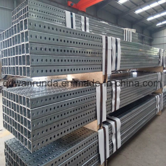 "2"" X 2"" 14ga Galvanized Perforated Square Pipe"
