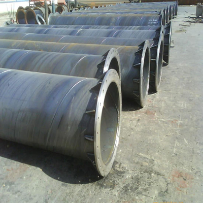 Spiral Steel Pipe with Flange Use for Fluid Transport