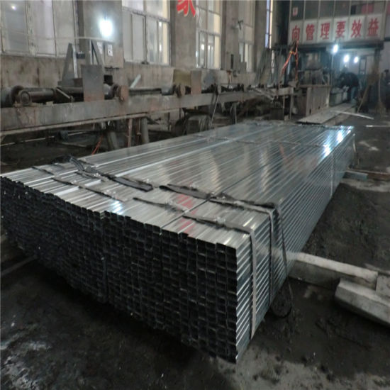 50X50mm Galvanized Steel Pipe for Decorative Pipes