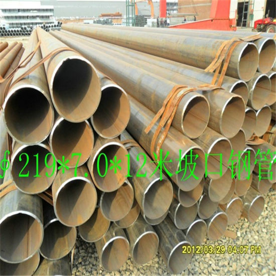 Od219mm ERW Steel Pipe for Steel Structure