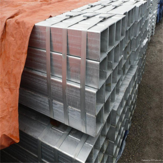 Rectangular Galvanized Steel Tube (hot dipped galvanized)
