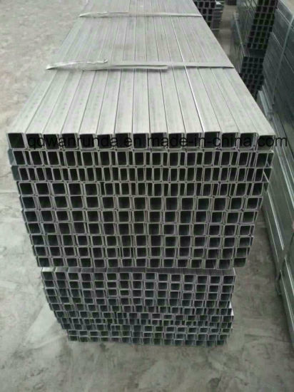 Galvanzied Slotted Steel C Channel/Strut Channel Factory Price