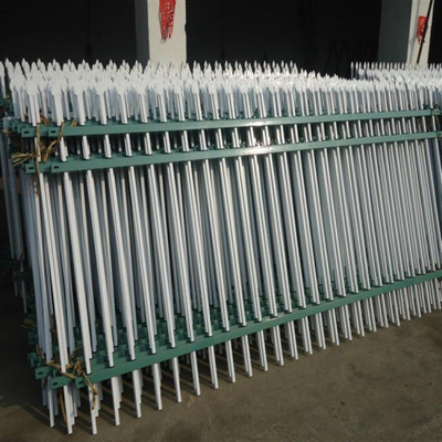 Steel Barrier Made by Galvanized and Painted Square Tube