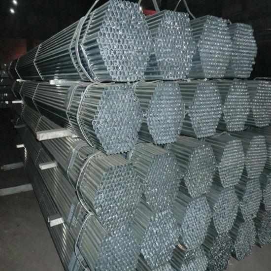 Ornament Pre-Galvanized Steel Pipes Round Shape