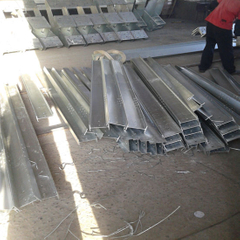 H Steel Beam with Galvanized Surface and Holes Use for Frame