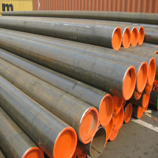 Q235 Carbon Steel Pipe for Steel Structure or Fluid Transportation