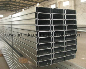 Mild Steel Slotted Galvanized C/Z/U Steel Channel