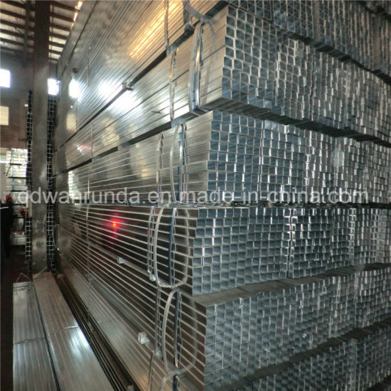 Square Galvanized Steel Pipe Application for Warmhouse/Greenhouse