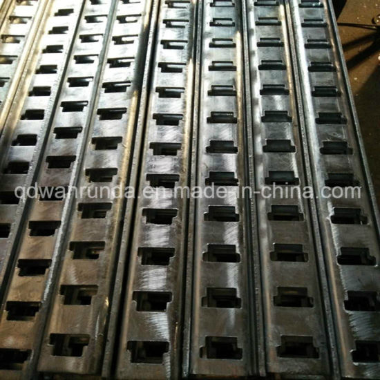 ′t′ Slots HDG Steel Cable Rack