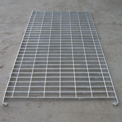 Grid Hot DIP Galvanized Steel Fencing Making by Steel Flat