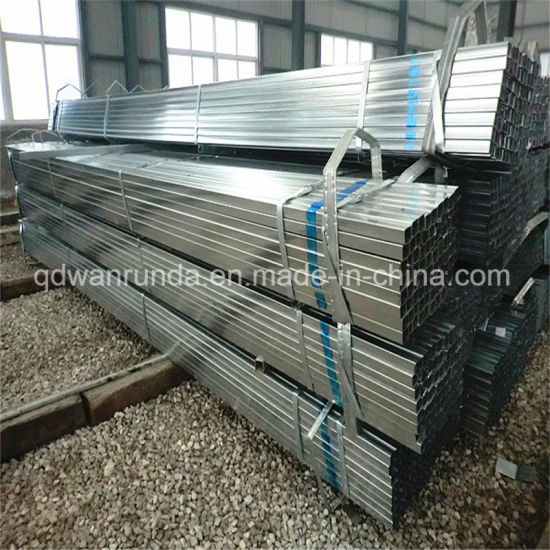 Rectangular Pre Galvanized Steel Tube