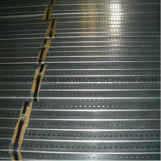 Galvanized Square Perforated Pipe