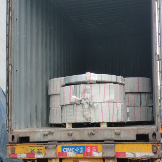 Exported Galvanized Steel Strip for Pipe Making