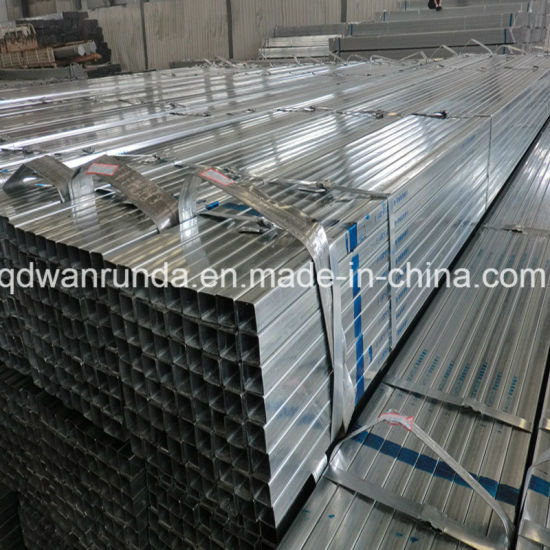 Furniture Galvanized Pipe with Square Shape