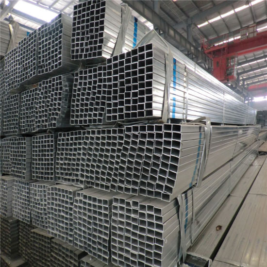 20X20mm Galvanized Steel Pipe for Sign