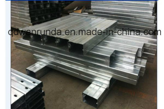 U Steel Channel with Galvanized Surface