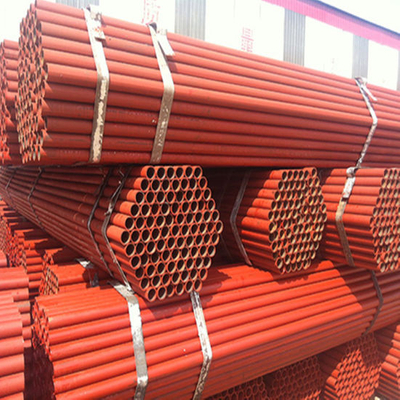 Red Painted ERW Steel Tube for Making Scaffold