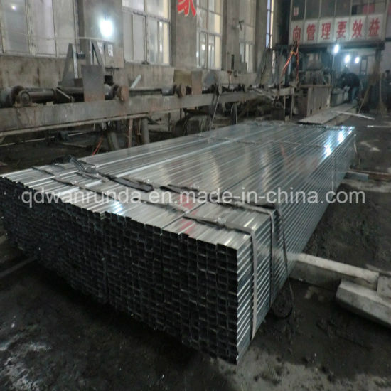 Pre Galvanized Steel Pipe Use for Decoration or Furnature