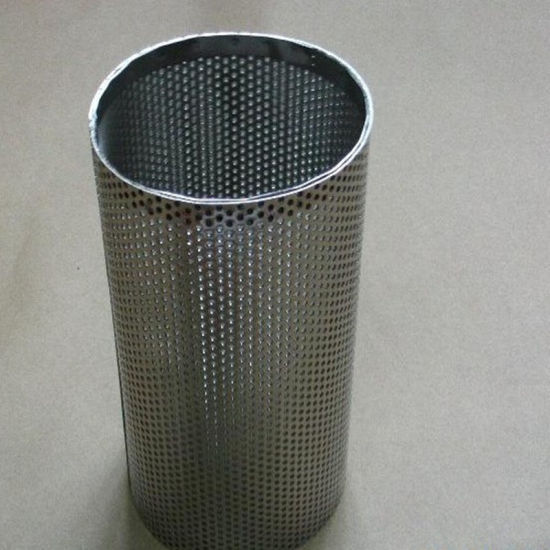 Galvanized Perforated Sheet Use for Making Trash Can